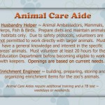 Animal Care Aide